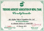 Trekking agency association of nepal