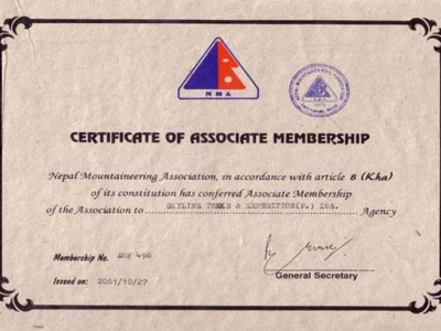 Nepal Mountaineering Association (NMA)